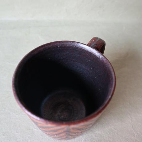 鉄絵マグカップ大 006