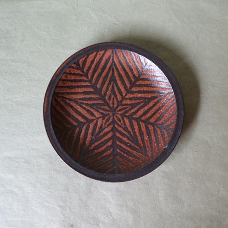 鉄絵六寸皿 002