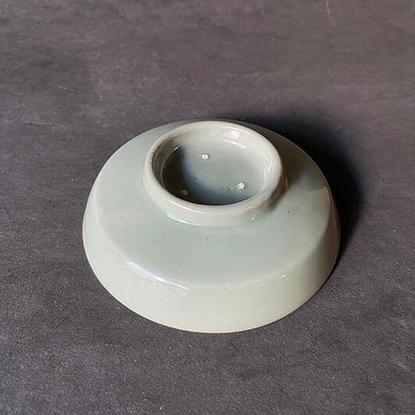 青磁  小皿  018