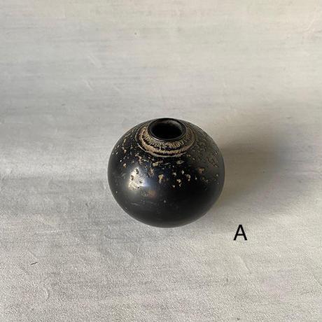 小花器S  黒 023