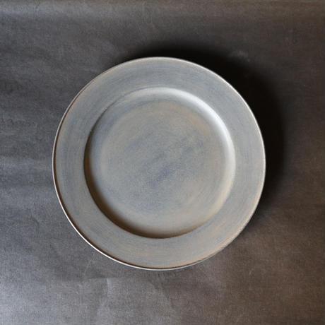 白漆リム皿 003