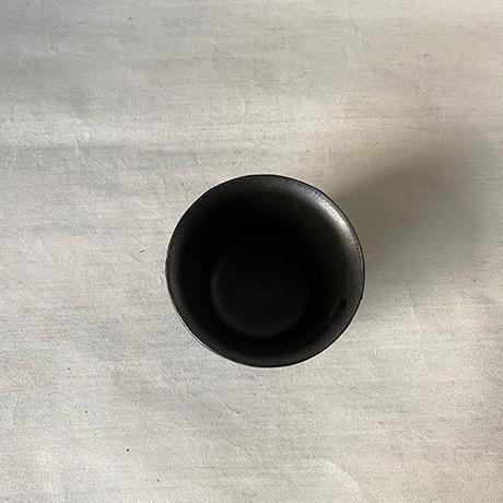 せん茶碗a 黒 014