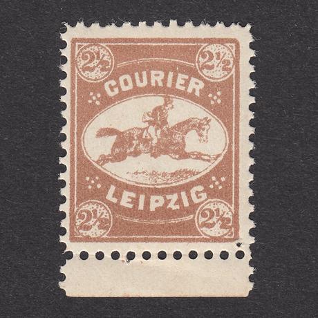 ドイツ(民間地方切手)Courier:1892年 Mi#6