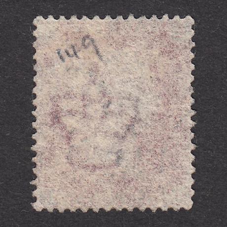 ペニーレッド(プレート):1864年 G1(SG#43/44) PL149 HE