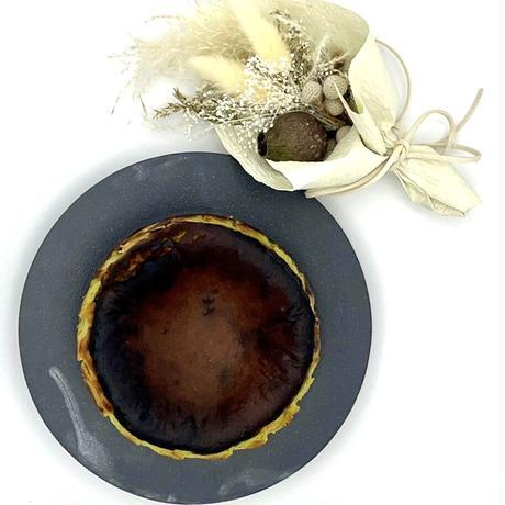 3)ピスタチオバスク × sakurakoプリザーブド スワッグ