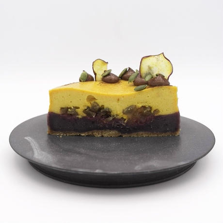 * 紫芋・りんご・パンプキンのチーズケーキ 〜 purple rain 〜