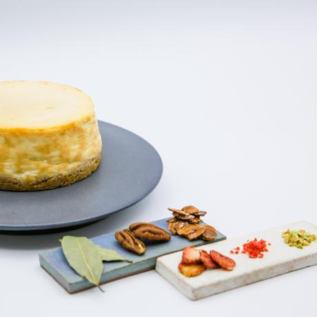 「家族」*vanilla + decoration kit (バニラチーズケーキ + デコレーションキット)《townzオリジナルBOX付き》