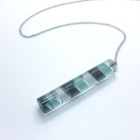 ネックレス「Cylinder Color L 」 小島有香子
