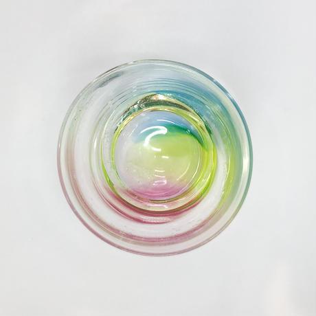 ロックグラス「にじとほし」 竹田 舞由子