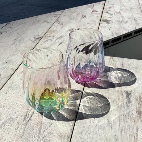 グラス「にじ光」 竹田 舞由子