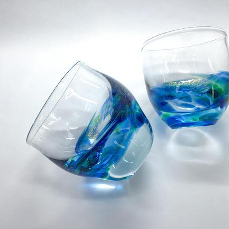 ぐい呑み「Aqua Ⅰ」 吉田 薫