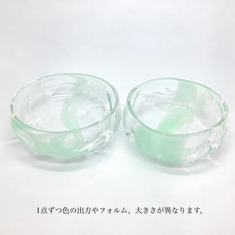 小鉢【越翡翠硝子】 古賀 雄大