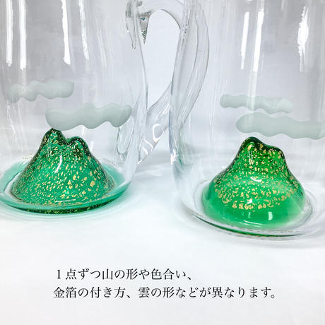 ビアマグカップ「山に乾杯」 室 伸一