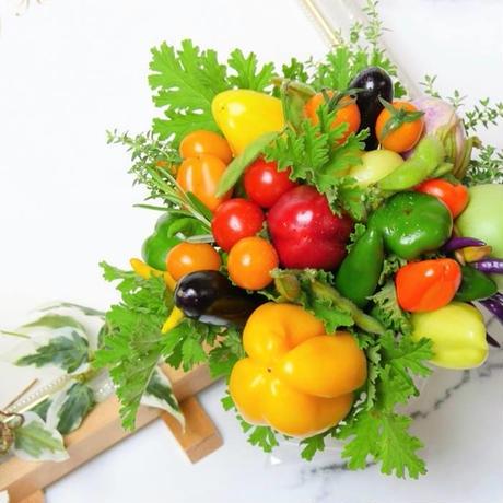 人気No.1おすすめカラフルな野菜ブーケ(クール便送料無料)【※個数限定発売】