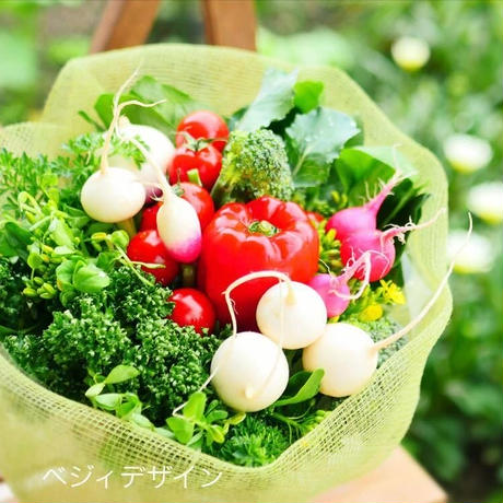 野菜ブーケミニサイズ(クール便送料無料)【限定販売】