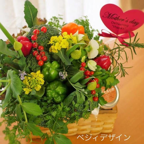 大好きなお母さんへ♡母の日野菜ブーケ(クール便送料無料)【数量限定】