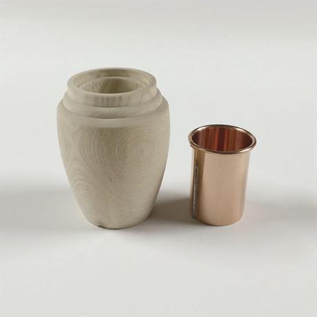 アオダモ花瓶