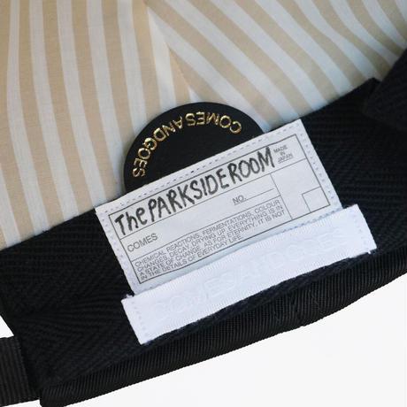 <COMESANDGOES>WATERPROOF NYLON<LITTLE>BRIM CAP|The PARKSIDE ROOM [EXCLUSIVE]