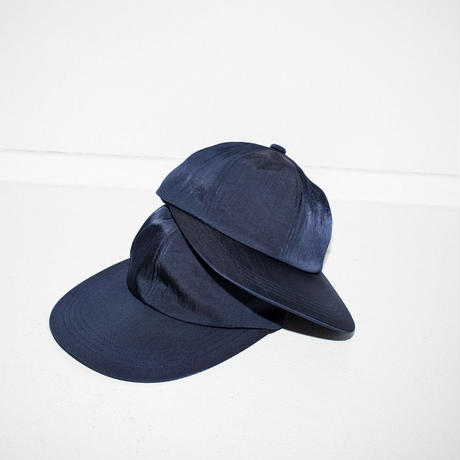 <COMESANDGOES>LONG BRIM CAP for The PARKSIDE ROOM [Navy]