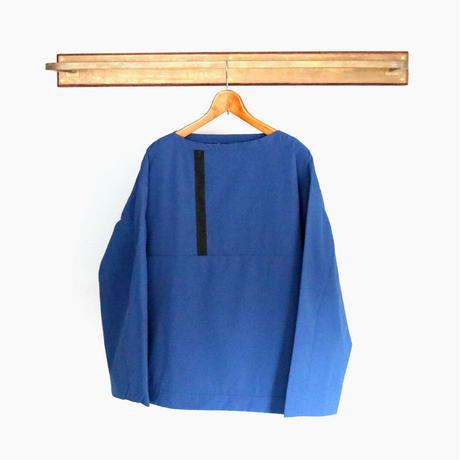 < softs×The PARKSIDE ROOM > Cargo Smock [BLUE ]