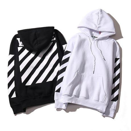 新品 オフホワイト/Off-White  パーカー 男女兼用 春物 春 春服 カップル 人気 2色