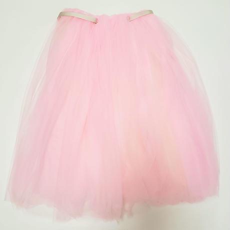 ロングチュチュスカート ピンク