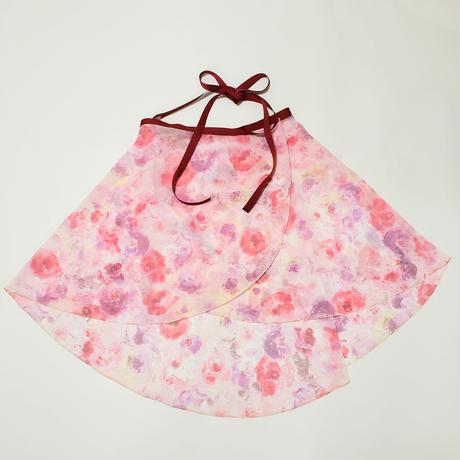 バックテイルラップスカート ドリーミーピンク