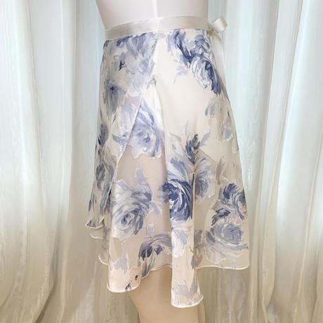 【sylphynes】エコオパールラップスカート 38cm丈 ホワイト<20118>