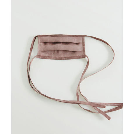 Hand Dyed Linen Mask(ls11241A)