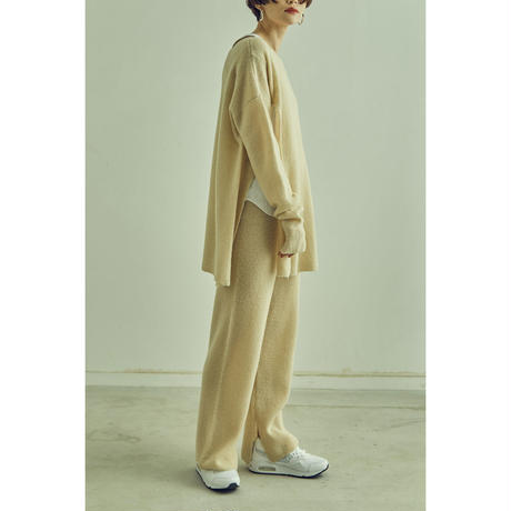 Meino wool Slit Knit Pants (ls072)