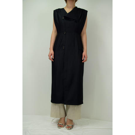 "【""little $uzie"" Original #4】Long Gilet Dress(ls088D)"