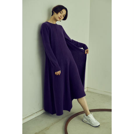 "【""little $uzie"" Original #3】Angola Cape Asymmetry Knit Dress (ls074)"
