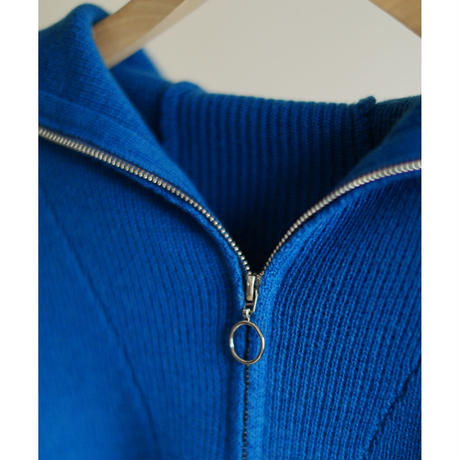 Elbow Stitch Zipup Hoodie Knit P/O(ls14246K)
