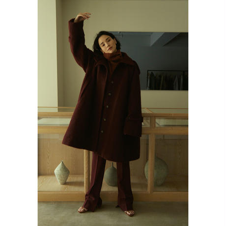 "【""little $uzie"" Original #5】Mohair Shaggy  Cape Coat(ls148J)"