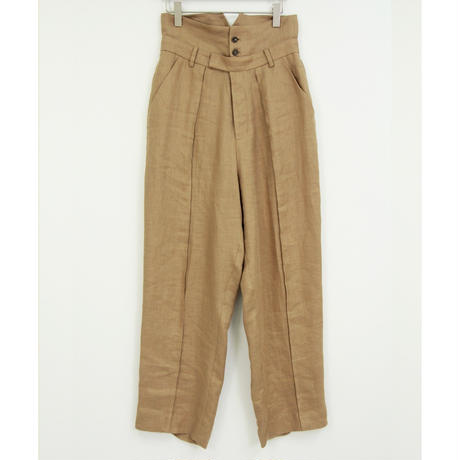 "【""little $uzie"" Original #4】Double Waist Tapered Pants(ls082P)"