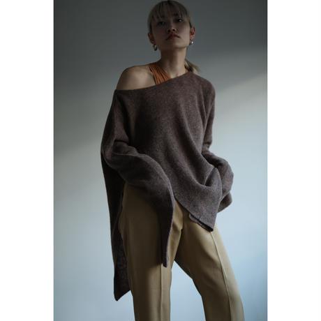 Meino wool Slit Pullover (ls077)
