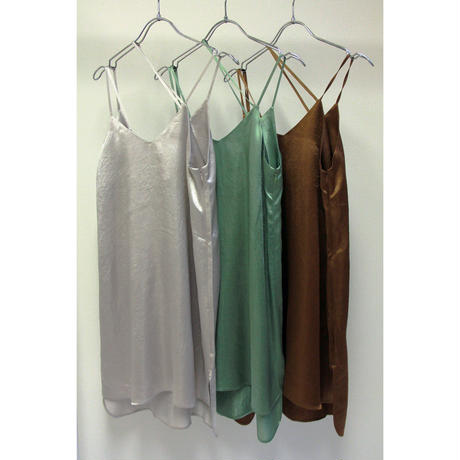 "【""little $uzie"" Original #4】Diagonal Strap Satin Tunic(ls097D)"