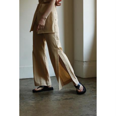 Side Slit Flare Pants (ls101P)