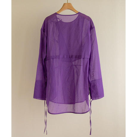 【little $uzie  #5】Sheer China Shirt(ls119T)