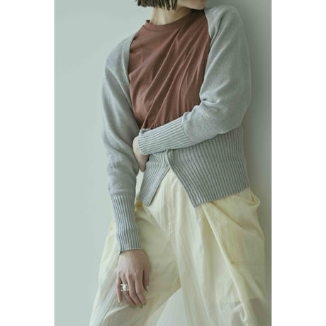 "【""little $uzie"" Original #6】Bolero Knit Cardigan(ls168K)"