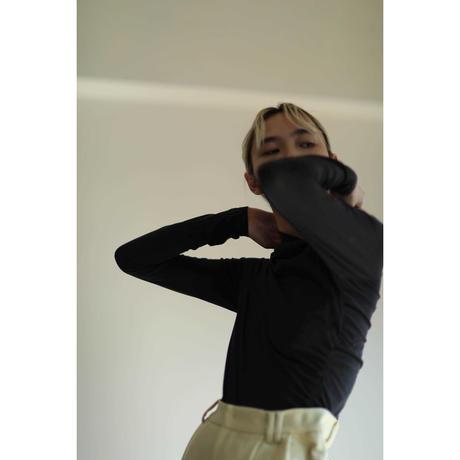 【little $uzie  #5】Asymmetry Shirring Tops(ls114T)
