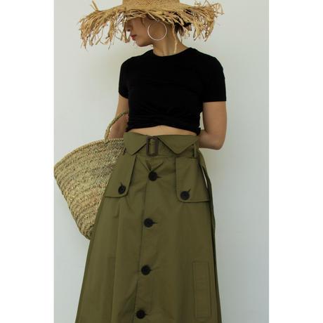 Trench Design Long Skirt (bt176)