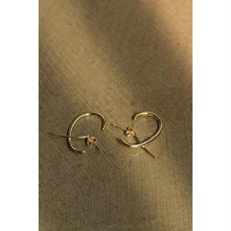 【KNOBBLY STUDIO】DEBUT EARRINGS  Gold(GS001-00103)