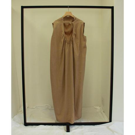 Back V-Neck Mantle Dress(ls109D)
