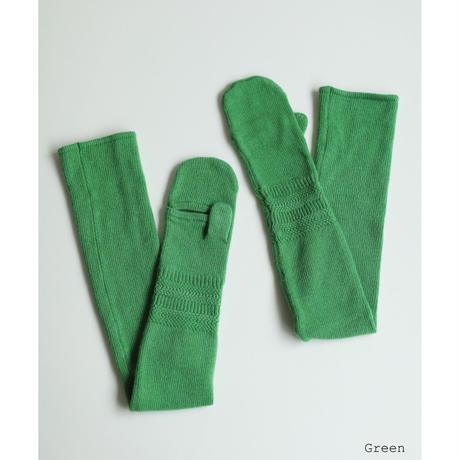 Zigzag Rib Long Mittens(ls14261A)