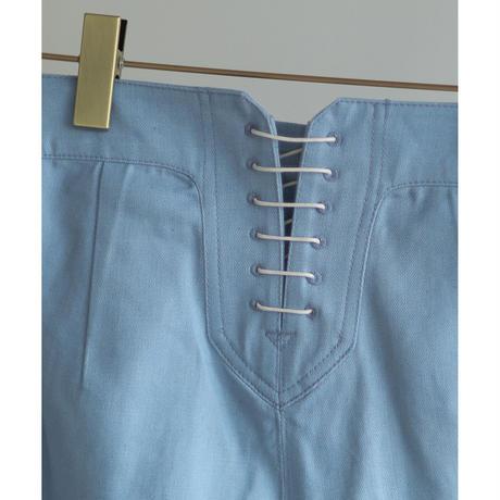 Knee Switch Denim Marine Pants(ls11203P)