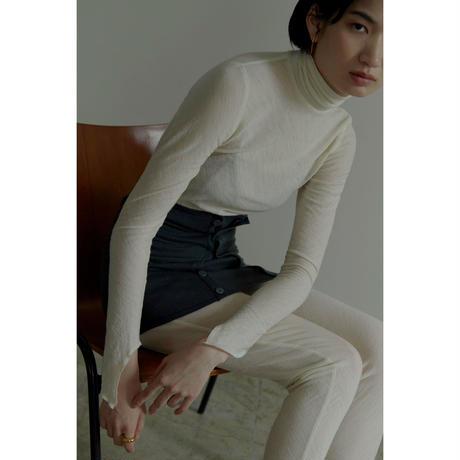"""【""""little $uzie"""" Original #5】Wool Cut Hi-neck Tops(ls129T)"""