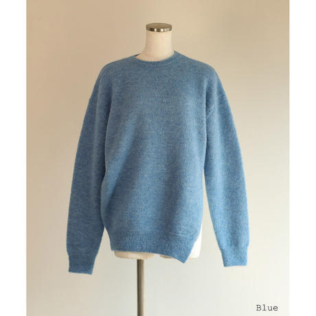 Alpaca Wool Slash Hem Pullover(ls196K)
