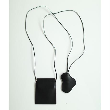 Cow Leather Clochette & Purse(ls13253A)