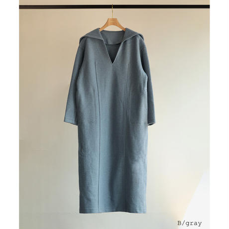 Wool Jersey Sailor Dress(ls199D)